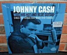 * JOHNNY CASH - With His Hot And Blue Guitar + STMHF, Ltd 180G COLORED VINYL New