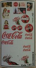 Werbebeschriftung Cola Decals 1:87 oder H0
