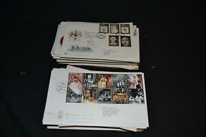 GB first day covers etc 1970's to 2000's period x 135 mostly different.