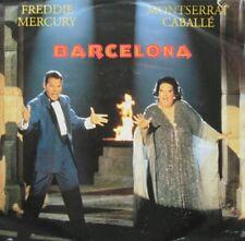 "FREDDIE MERCURY / MONTSERRAT CABALLE - BARCELONA  - VINYL 7"" - 45 RPM"