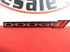DODGE CHARGER Grille Grill Emblem Badge Nameplate NEW OEM MOPAR