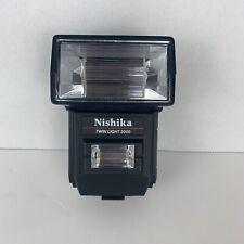 Nishika 3000 Twin Light Electronic Flash FOR N8000 3-D Camera 35mm