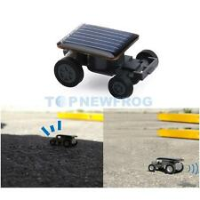 Smallest Mini Solar Power Robot Toy Car Auto Educational Children Kids Xmas