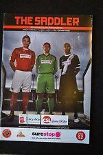 Walsall Vs Aston Villa 21-07-11  Program (P122)