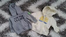 Joe Fresh Baby Girl Boy 3 - 6 Months Zip Hoodies Lot Little Leader Camp
