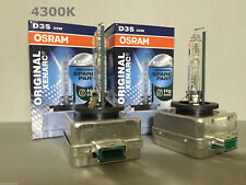 2PCS NEW OEM OSRAM XENARC D3S 66340 4300K 35W HID XENON LIGHT BULBS SET