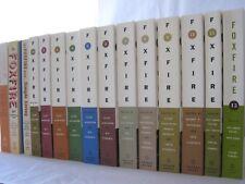 Foxfire Volumes #1-12: Includes 40th, 45th & 50th Anniversary Editions (Set 15)
