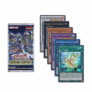 Yu-Gi-Oh! TCG Genesis Impact Einzelkarten GEIM Kartenauswahl 1. Auflage Cards DE