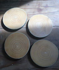 Wooden Coasters x 4