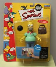 PIN PAL HOMER SIMPSONS ACTION FIGURE Toy WoS 2 Interactive Bowling 99193 NEW