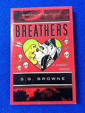 Breathers: A Zombie's Lament - UNCORRECTED PROOF BOUND GALLEY First Edition