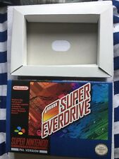 Ultimate Edt Snes Boxed Super Everdrive game Boxed W/ cart free region Game