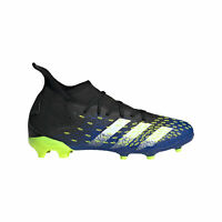 adidas Predator Freak.3 FG Firm Ground Junior Kids Football Boot Black