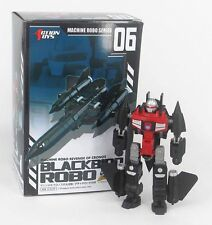 MACHINE ROBO 06 BLACKBIRD ACTION TOYS  G-26163 4895005020216
