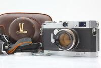 [Near MINT FedEx] Canon Vt Rangefinder Camera w/ 50mm f/1.8 L39, Grip From JAPAN