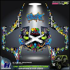Can Am Maverick 1000R XDS Turbo 2015 Graphics kit  decals stickers atv utv