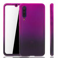 Xiaomi Mi 9 Se Custodia Cover per Cellulare Protettiva Bumper Pellicola Viola