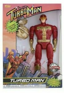 Funko Jingle All The Way Talking Turbo Man Action Figure Lights & Sounds Special