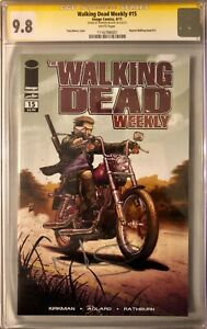 Walking Dead Weekly #15 SS CGC 9.8 Signed by Norman Reedus (Daryl Dixon) RARE