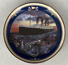 Titanic Bradford Exchange Collector's Plate #1 Maiden Voyage James Griffin Art