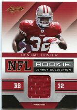 2011 ABSOLUTE MEMORABILIA ROOKIE RC JERSEY #21 KENDALL HUNTER 49ERS *42722
