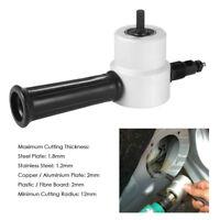 KE_ AD_ ITS- Head Metal Cutting Sheet Nibbler Saw Cutter Pole Drill Attachment
