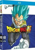 NEW DRAGON BALL SUPER PART 3 BLU RAY + RARE SLIPCOVER SLEEVE EPISODES 027 - 039