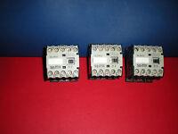 LOT OF 3 -  KLOCKNER MOELLER   DIL R 31  Contactor   500V~/600V 10A