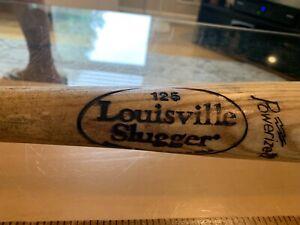 "Louisville Slugger 125 Wood Bat Model M110 Pro Stock Powerized Vintage 33"""