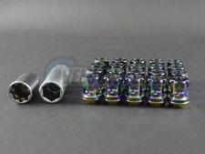 Project Kics R26 Racing Composite Lug Nuts Neo Chrome 12 x 1.5mm (20pcs)
