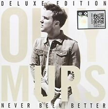 OLLY MURS - NEVER BEEN BETTER NEW CD