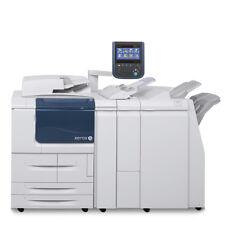 Xerox D110 B/W Digital Production Printer Copier Scanner Finisher D95 D125