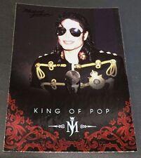 MICHAEL JACKSON 2011 Panini PLATINUM Parallel SP #19 The King Of Pop VERY RARE