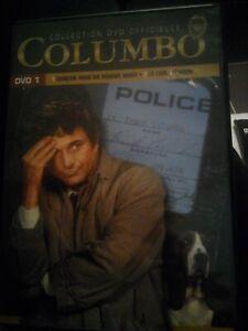 DVD COLUMBO (policier Peter Falk 2 épisodes)