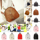 Women Girl Travel Backpack PU Leather Small Rucksack Handbag School Shoulder Bag