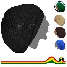 Rasta Tam Dread Dreadlocks Tams Hat Beret Roots Cap Reggae Marley Jamaica XL/XXL
