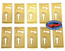 77-79 NOS Ford Lincoln Fender Door Quarter Side Belt Molding Trim Clips 10pcs CK