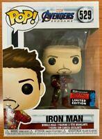 Iron Man Tony Stark NYCC Funko Pop Vinyl New in Mint Box + Protector