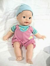 2001 Little Mommy Doll, Bright Blue Eyes and Teeth with 2 Outfits and Cap