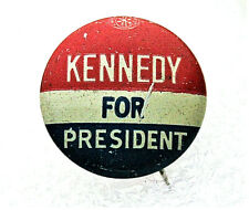 JFK Kennedy President Campaign Political Pin Button NOS 1960 Blemish