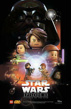 LEGO Star Wars Poster Revenge of the Sith Episode III NUEVO / NEW