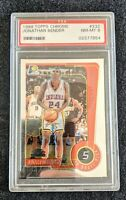 1999-00 Topps Chrome Jonathan Bender #232 - RC - NM/M PSA 8!! 🔥 Indiana Pacers
