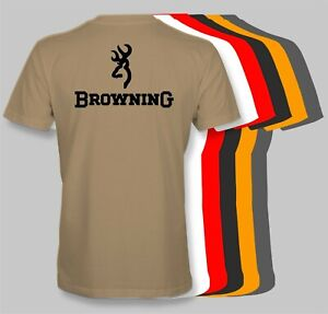 Browning Firearms Retro T-Shirt rifle pistol gun