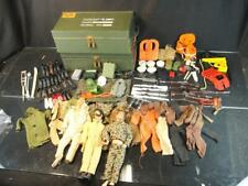 HUGE LOT OF 1960'S HASBRO G.I. JOE ACTION FIGURE U.S. ARMY MILITARY SOLDIERS TOY