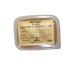 Glycerin Leather & Saddle Soap, Gold Label, 500 Gm - Soap Label