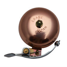 Crane Classic COPPER BICYCLE Big SIDE STRIKER BIKE BELL Sweet Sound