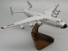Antonov An-225 Mriya Russian Airplane Desktop Kiln Dried Wood Model Large New