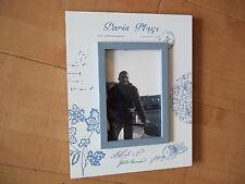 Cadre porte photo 10x15 déco Paris Plage blanc bleu genre vintage ancien rétro