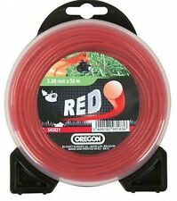 OREGON RED ROUNDLINE strimmer trimmer line 2mm x 15m RED NYLON STRIMMER LINE