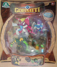 GORMITI CARTOON SERIES NEW & SEALED 4 CHARACTER BOX